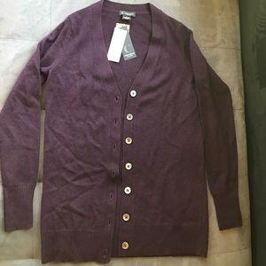 100% cashmere Bloomingdales cardigan