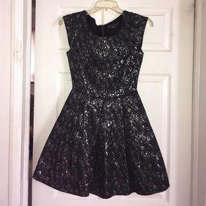 A/X Armani Exchange Dresses & Skirts - Black & Silver A|X Party Dress
