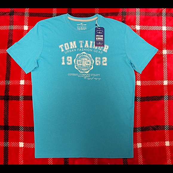 online store cheap sale retailer Tom Tailor German Branded T-shirt for men NWT