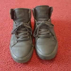 Supra Other - used black terry kennedy supra mid top size 8