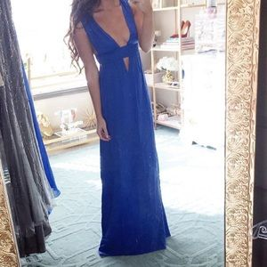 NWT Royal Blue Maxi Dress