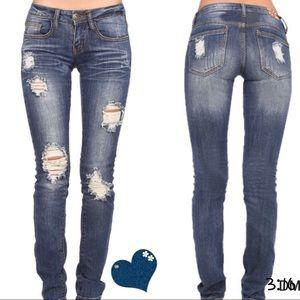 Boutique Denim - Distressed jeans