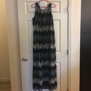 Cato Dresses & Skirts - Cato Navy Maxi Dress