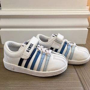 K-Swiss Other - Infant K-Swiss Classic with Blue