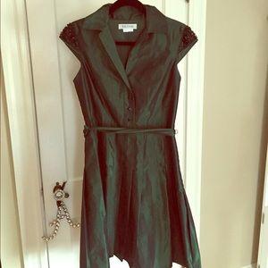 Green Kay Unger Dress