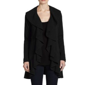Saks Fifth Avenue Black Label Sweaters - •Saks Fifth Avenue• 100% Cashmere Duster