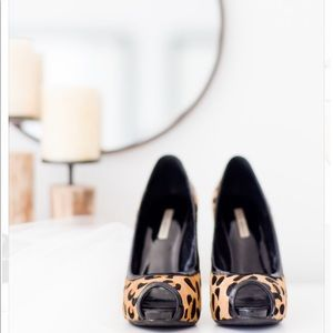 Kathryn Amberleigh Shoes - Kathryn Amberleigh Leopard II Peep toe pumps
