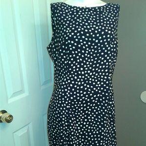 AB Studio Dresses & Skirts - Black and white polka dot dress