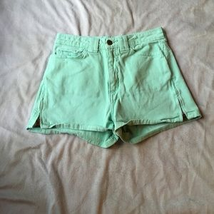 American Apparel Pants - 🎉 sale 🎉 Mint green American apparel high waist