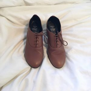 American Apparel Bobby Leather Lace Up shoes