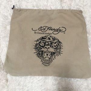 "Ed Hardy  Handbags - Ed Hardy Dust Cover 20"" X 18"" New 😎"