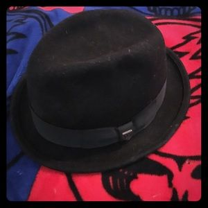 Brixton Other - Brixton fedora hat 7 1/2 60cm Large black
