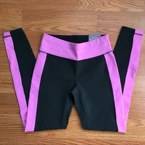 tek gear Pants - NWT Tek Gear Gray & Pink/Purple Yoga Pants Small