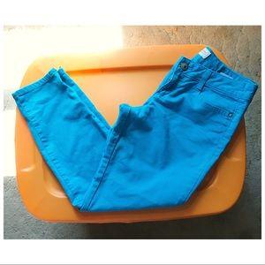 Neon Blue Skinny Jeans 💍