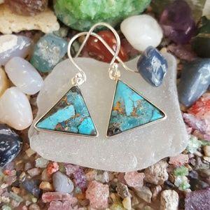 Ithaca Peak Turquoise Earrings