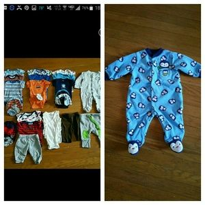 Gerber Other - Bundle Baby Boy Clothes, Size 0-3Months