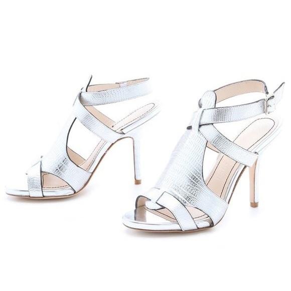 32df301685 Elizabeth and James Shoes | Silver Tango Heels 8 | Poshmark
