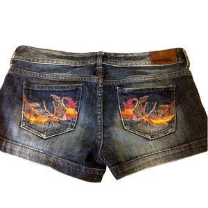 Express Pants - Express Embroidered Shorts