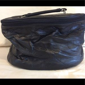 Other - Large leather toiletry bag/dopp kit, brand new