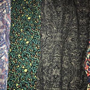 Other - Black swirl LLR leggings