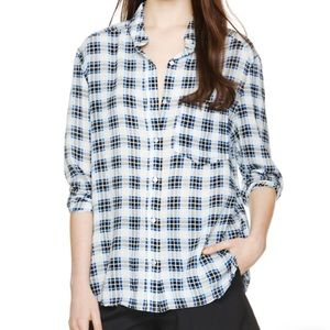 Aritzia Tops - Artizia Plaid Shirt