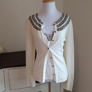 Kay Unger Tops - Cardigan and tank