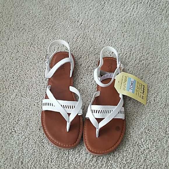 07087c3aaaa TOMs Lexie white leather sandals
