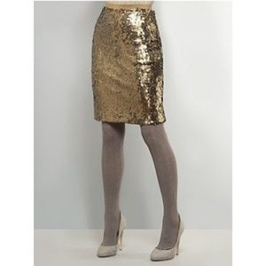 NY Collection Dresses & Skirts - New York & Co Sequined Skirt (m)