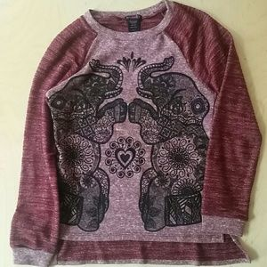 Hybrid Tops - Adorable elephant sweatshirt