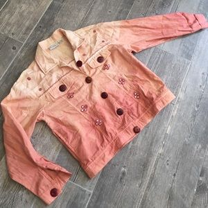 flashback Jackets & Blazers - Peach denim jacket