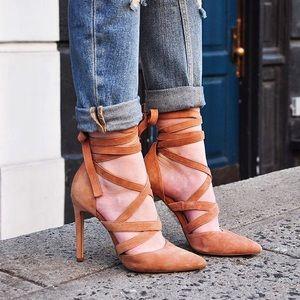 Aldo Shoes - Aldo Lace Up Heels