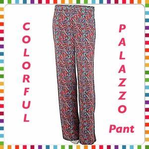 Mark Zunino Pants - 30% OFF BUNDLES💐Mark Zunino Colorful Palazzo Pant