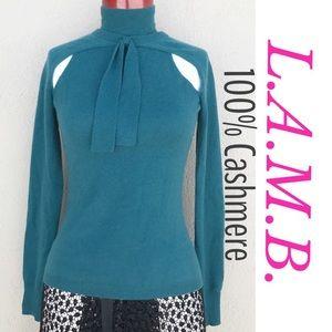 Sexy L.A.M.B. Cashmere Sweater!