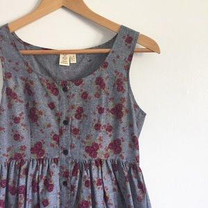 Urban Outfitters Dresses & Skirts - Urban Renewal Chambray Floral Dress
