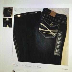NWT jeans, Rue 21