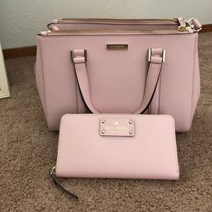 Kate Spade handbag and matching wallet!
