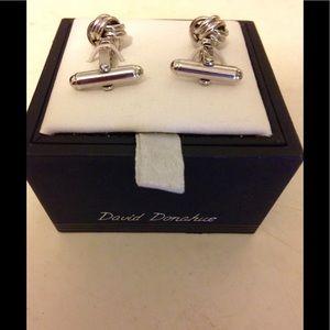 David Donahue Other - David Donahue silver knot cufflinks