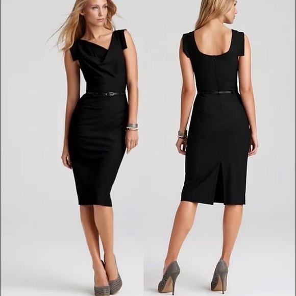 3298d929c88 Black Halo Black Jackie O dress sz M