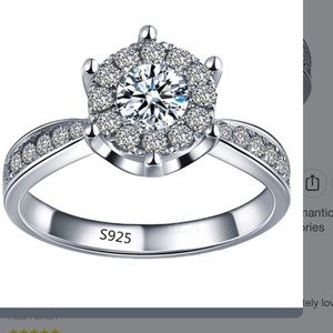 Jewelry - New 925 engagement ring size 8 - 2 available