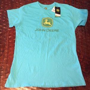 John Deere Tops - John Deere Glitter Graphic Tee