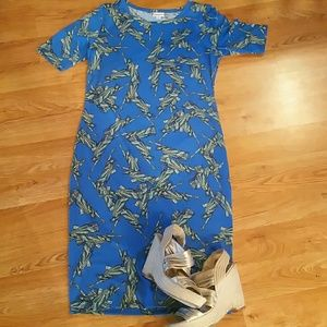 Lady Liberty Lularoe Julia dress **never worn**