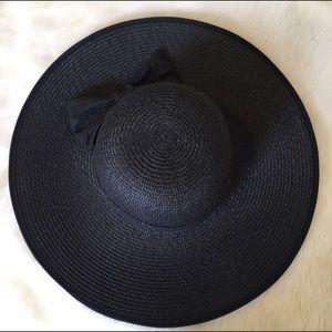 Accessories - Black Sun Hat
