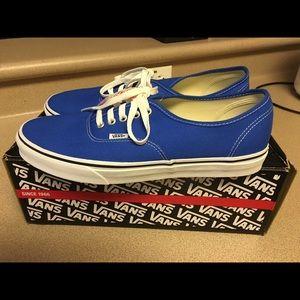 Vans Other - New Vans (Skydiver) Blue Men's Skate Shoes Size 11