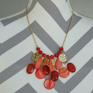 🌟'Coral Sunset' necklace