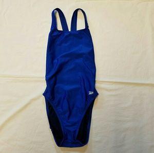 Speedo I Royal Blue Pro LT Drop Back Swimsuit 30 S