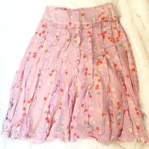 Anthropologie Dresses & Skirts - Odille Floral Skirt
