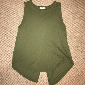 Old navy flyaway back tank