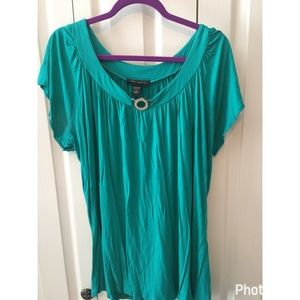 XL Cable & Gauge Flowy Top