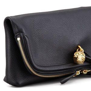 Alexander McQueen Handbags - SALE⚑Alexander McQueen Black Padlock Clutch Bag