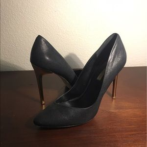 BCBGMaxAzria Shoes - BCBG Leather Pumps